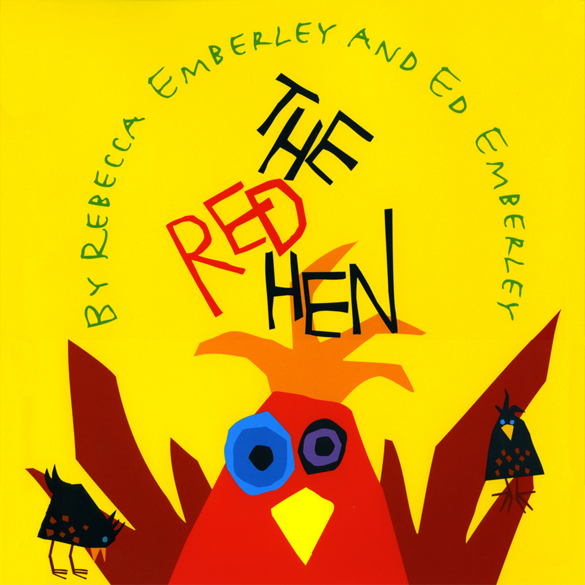 Printable The Red Hen Audiobook Cover Art