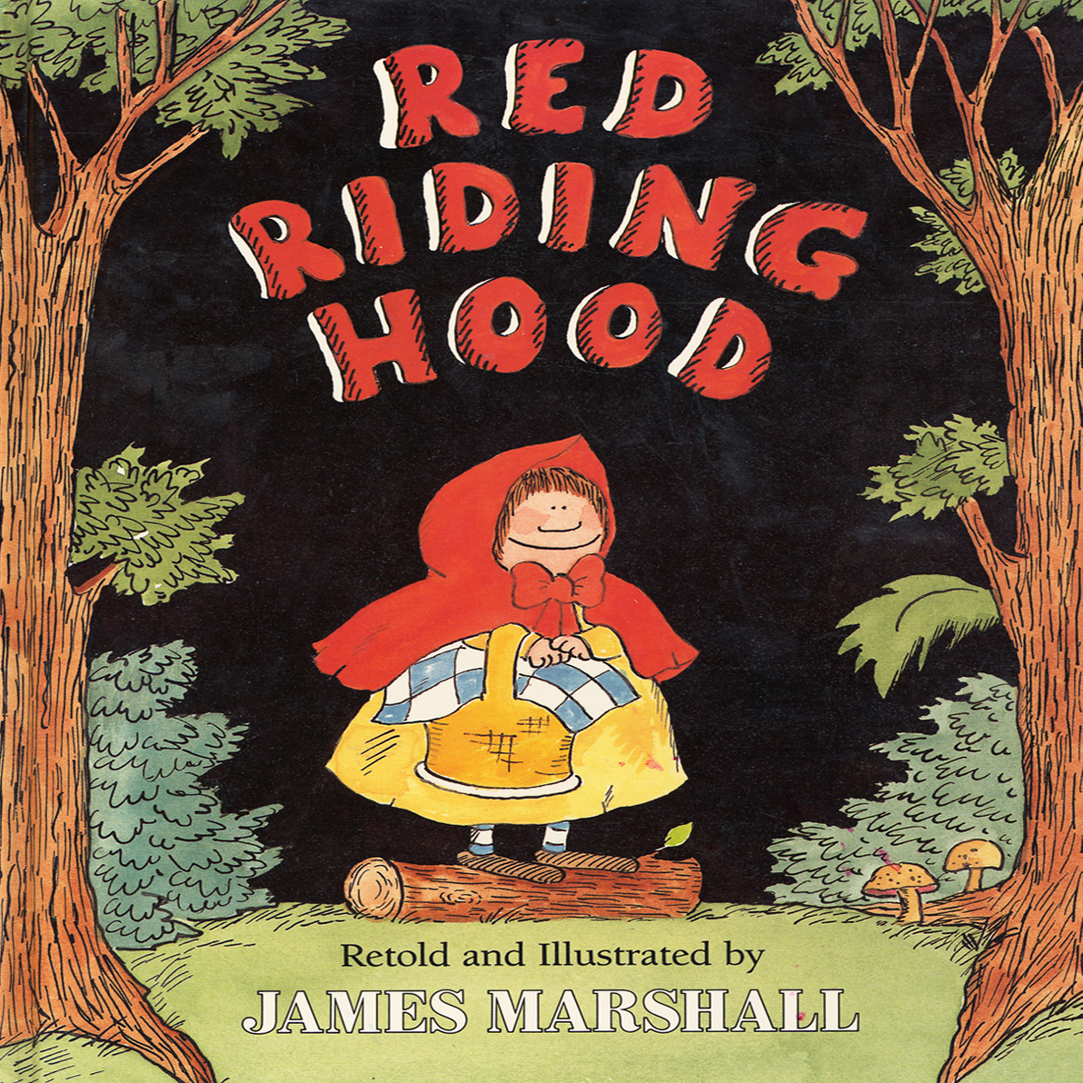 Printable Red Riding Hood Audiobook Cover Art