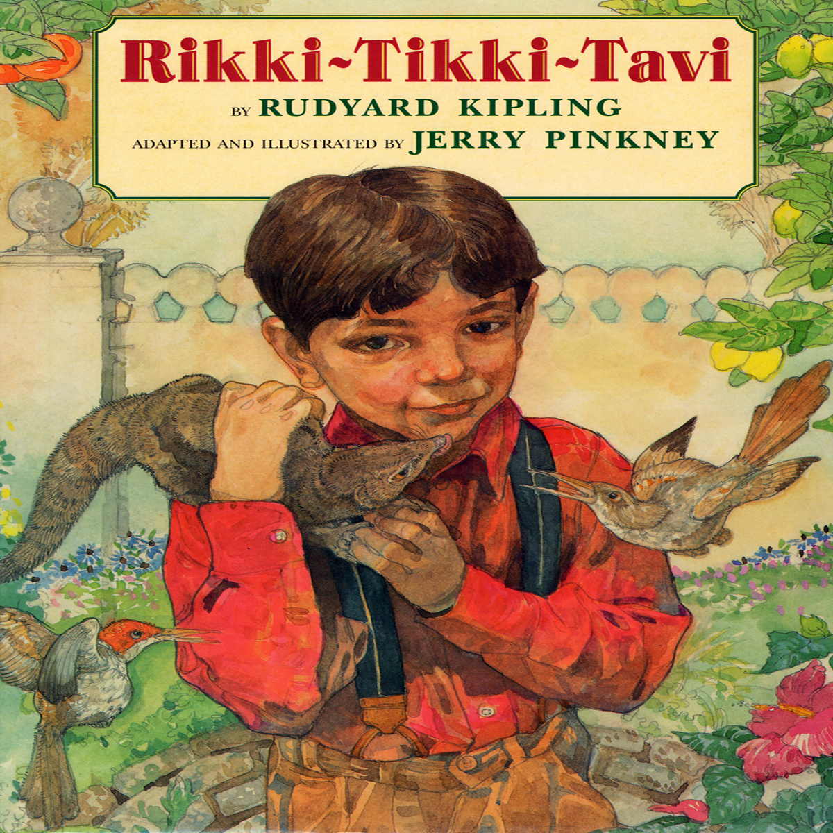Printable Rikki-Tikki-Tavi Audiobook Cover Art