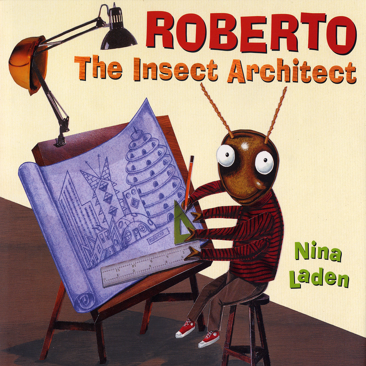 Printable Roberto the Insect Architect Audiobook Cover Art
