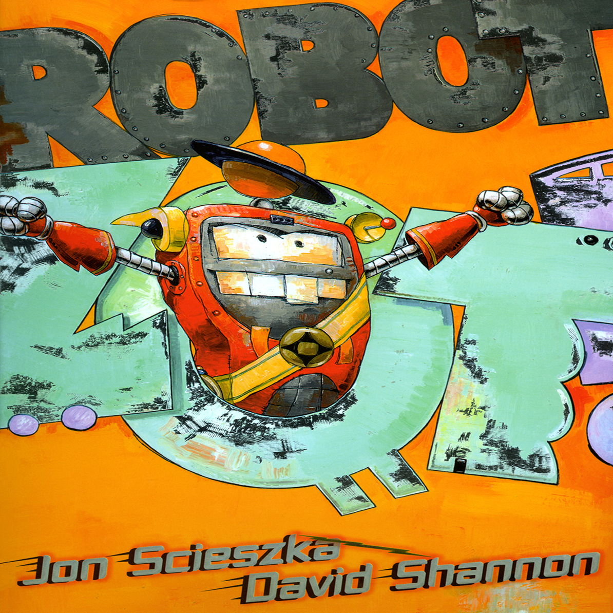 Printable Robot Zot! Audiobook Cover Art