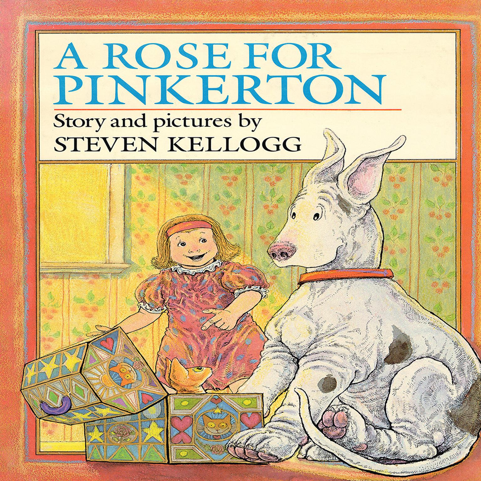 Printable A Rose for Pinkerton Audiobook Cover Art