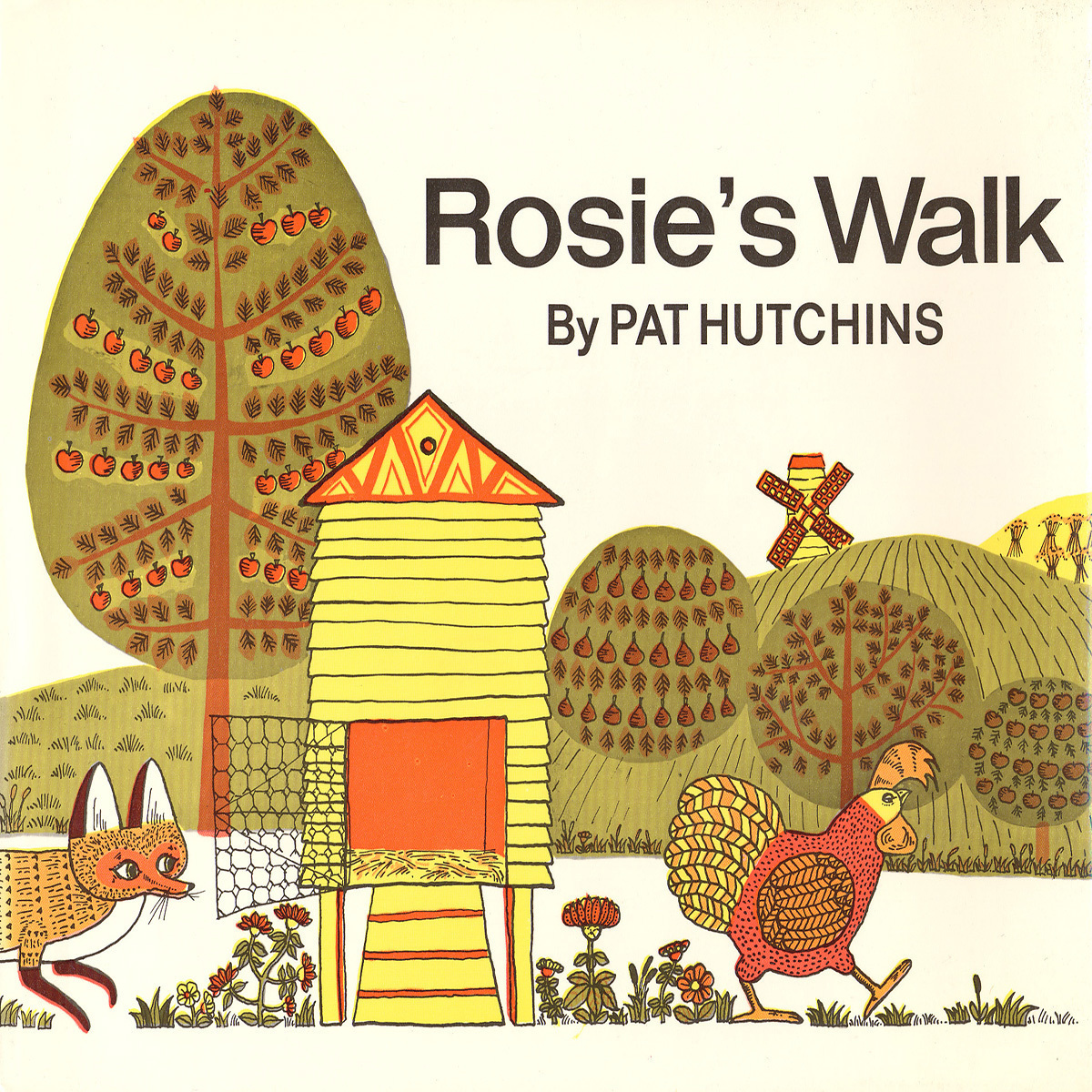 Printable Rosie's Walk Audiobook Cover Art