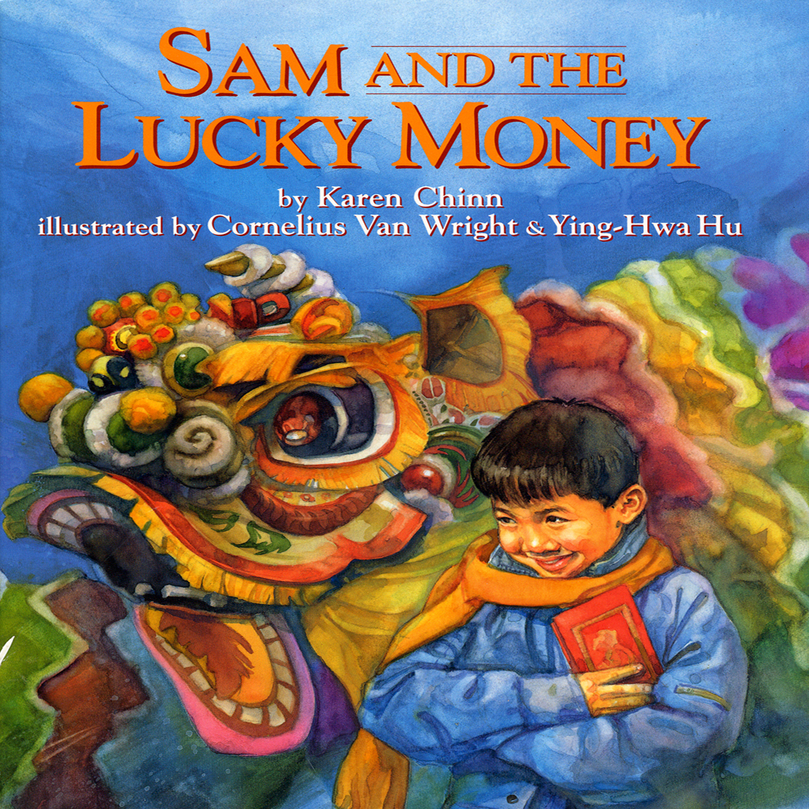 Printable Sam and the Lucky Money Audiobook Cover Art