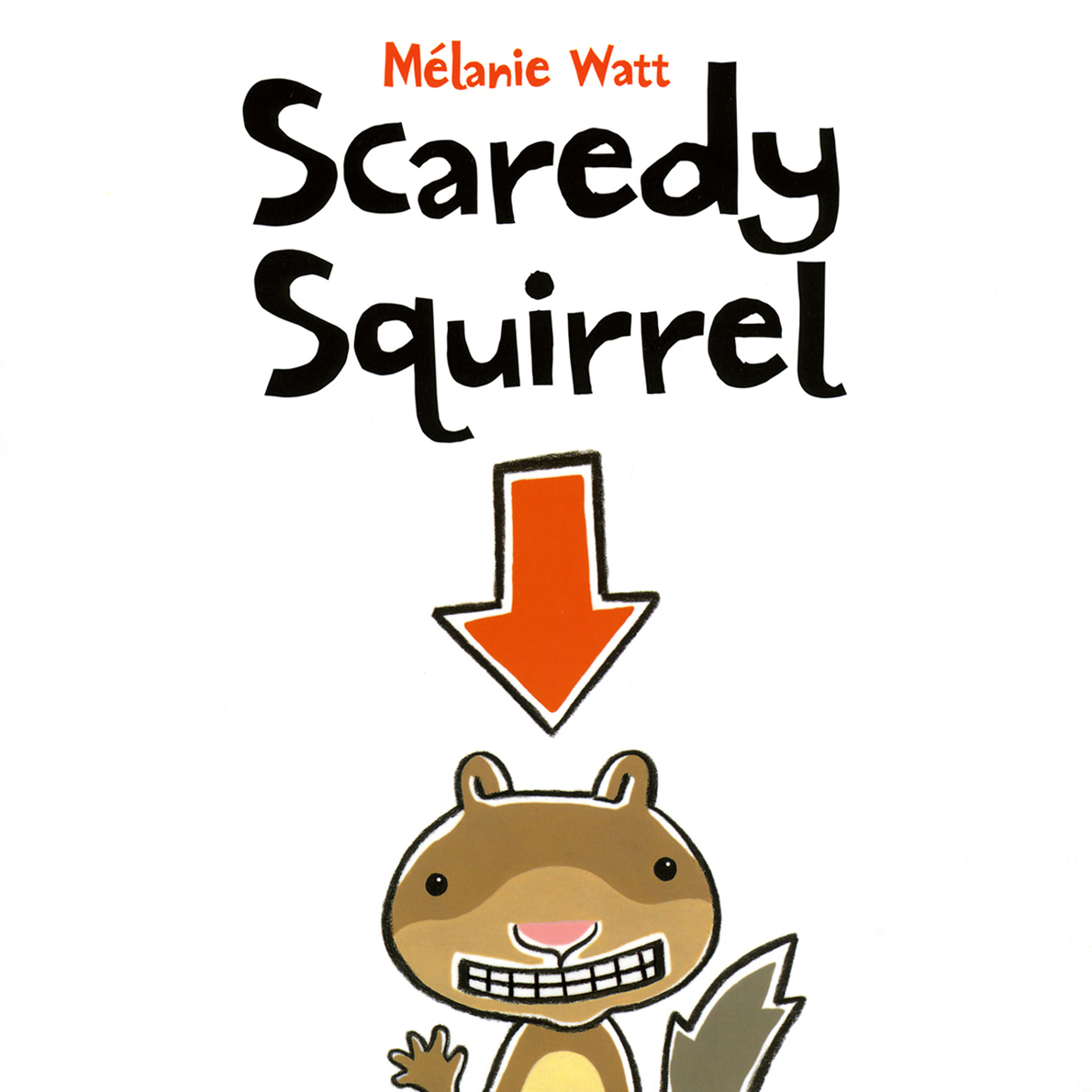 Printable Scaredy Squirrel Audiobook Cover Art