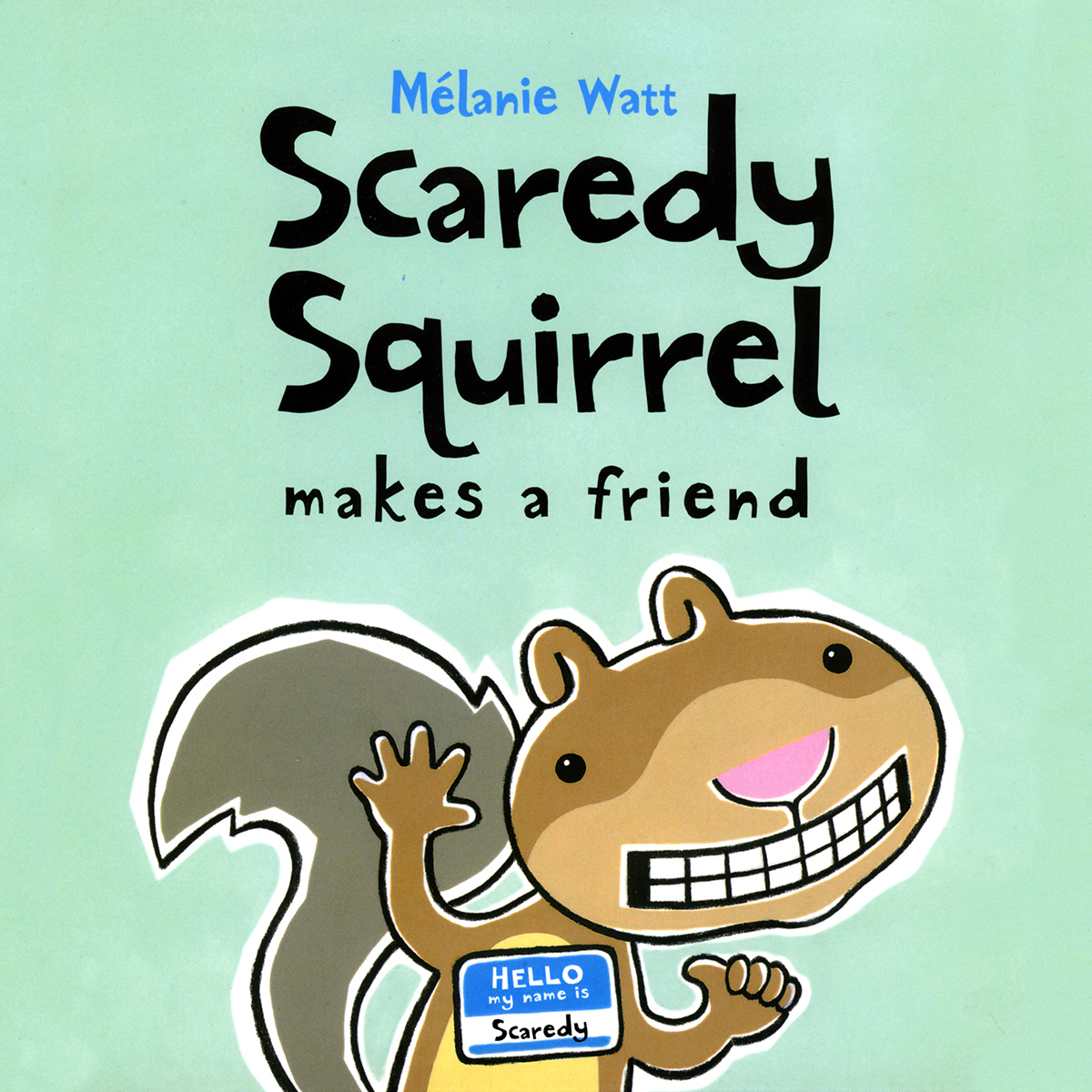 Printable Scaredy Squirrel Makes a Friend Audiobook Cover Art