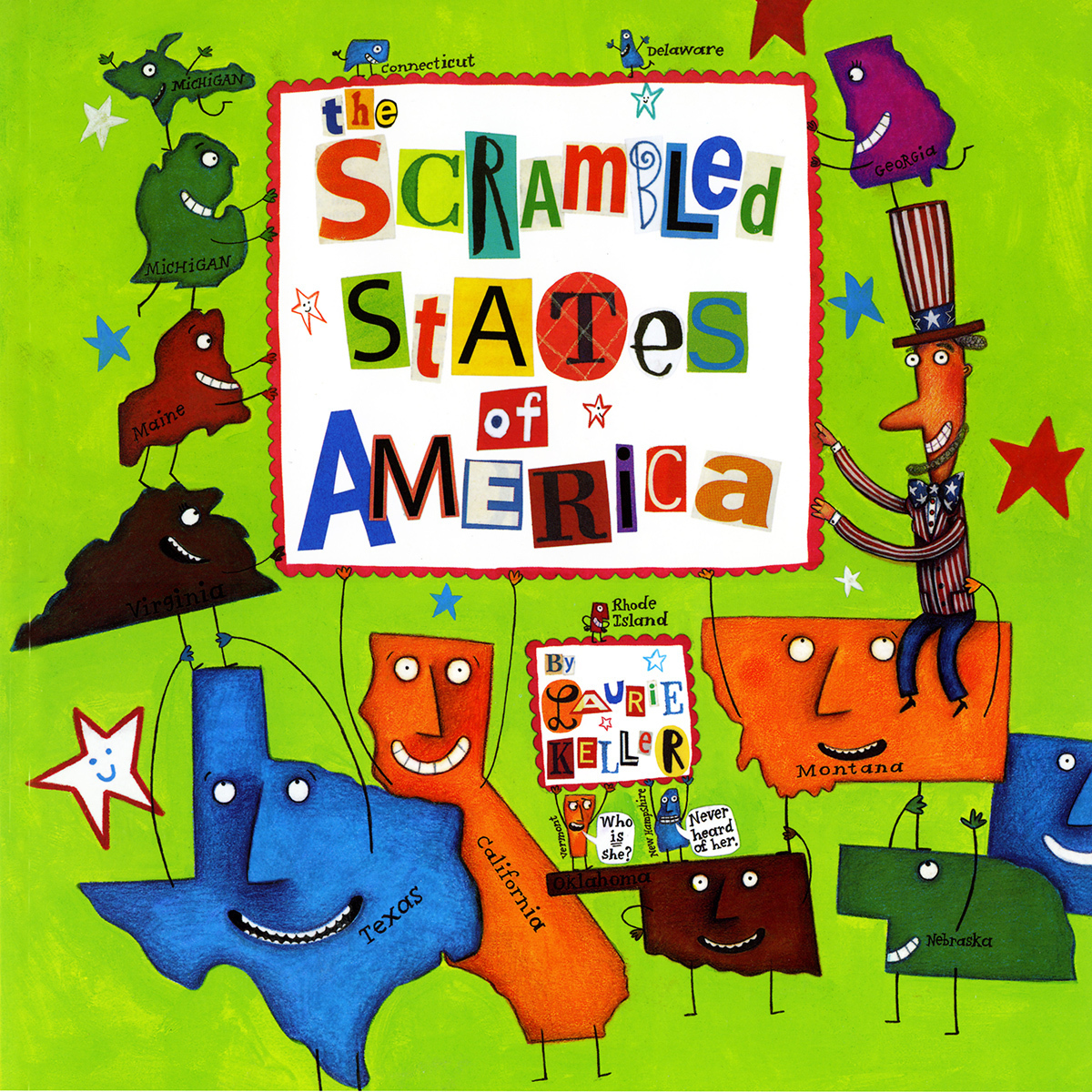 Printable The Scrambled States of America Audiobook Cover Art