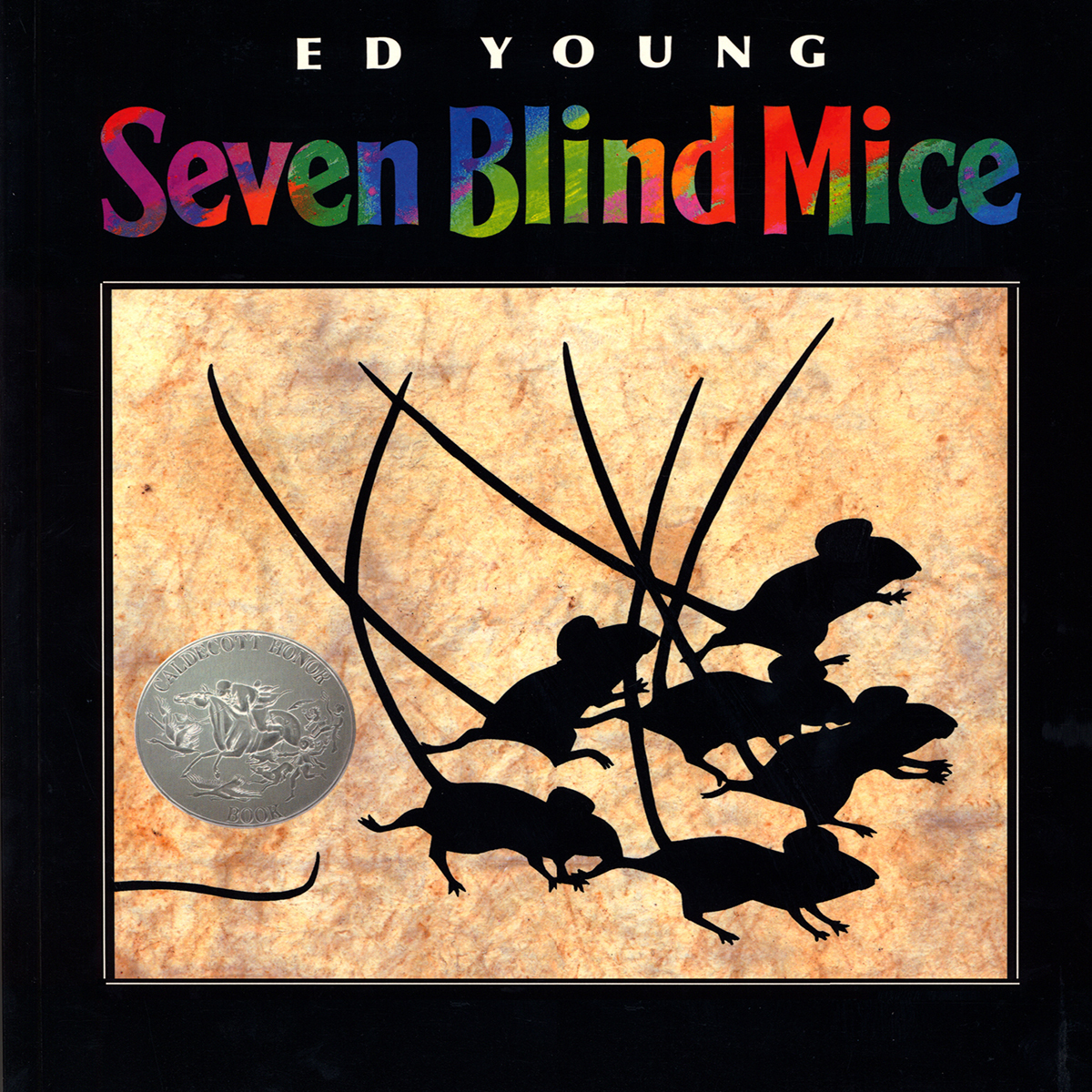 Printable Seven Blind Mice Audiobook Cover Art