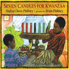 Seven Candles for Kwanzaa Audiobook, by Andrea Davis Pinkney