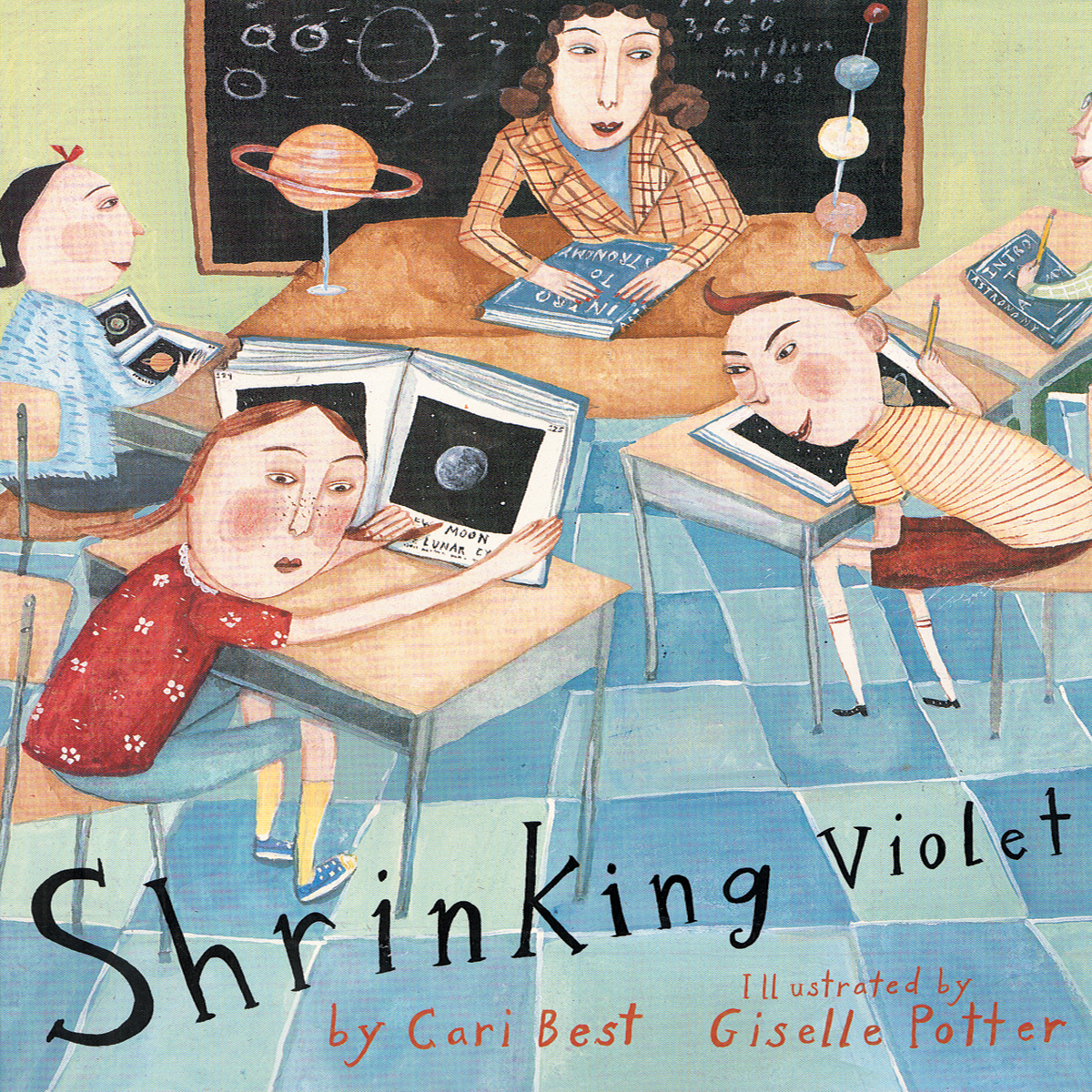 Printable Shrinking Violet Audiobook Cover Art