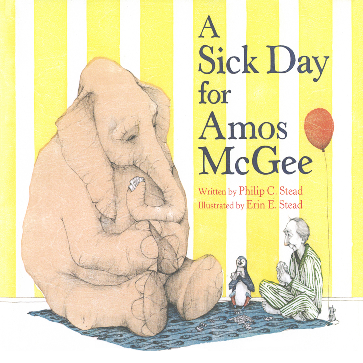 Printable A Sick Day for Amos Mcgee Audiobook Cover Art