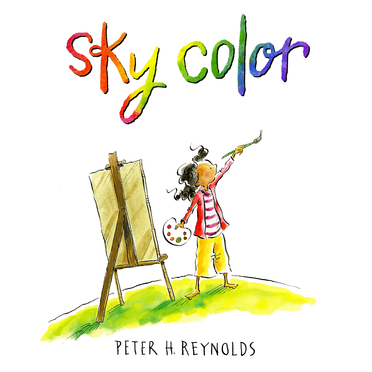 Printable Sky Color Audiobook Cover Art