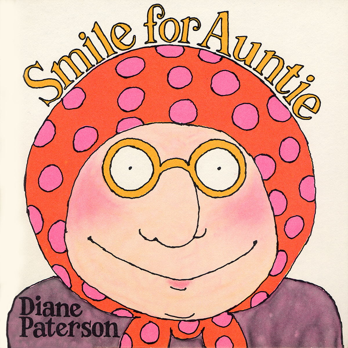 Printable Smile for Auntie Audiobook Cover Art