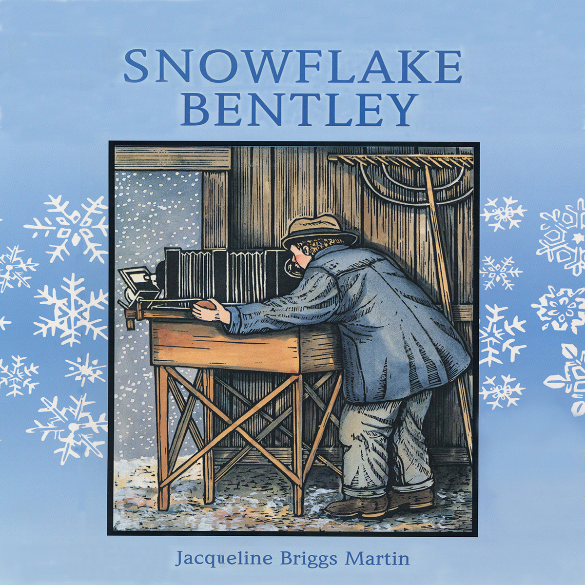 Printable Snowflake Bentley Audiobook Cover Art