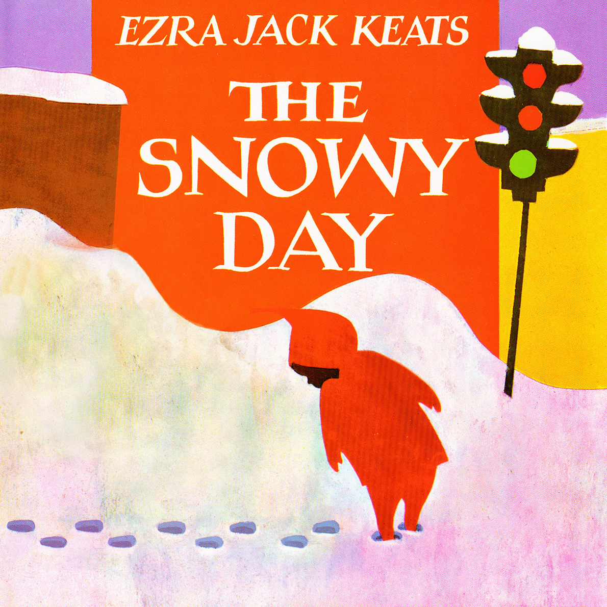 Printable The Snowy Day Audiobook Cover Art
