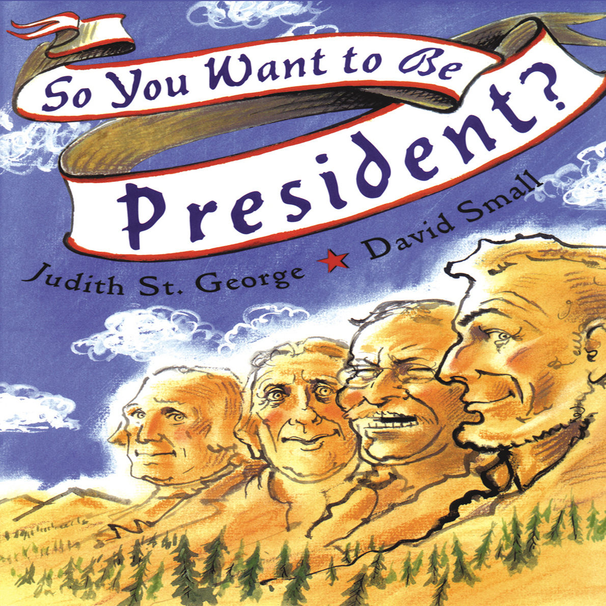 Printable So You Want to Be President? Audiobook Cover Art