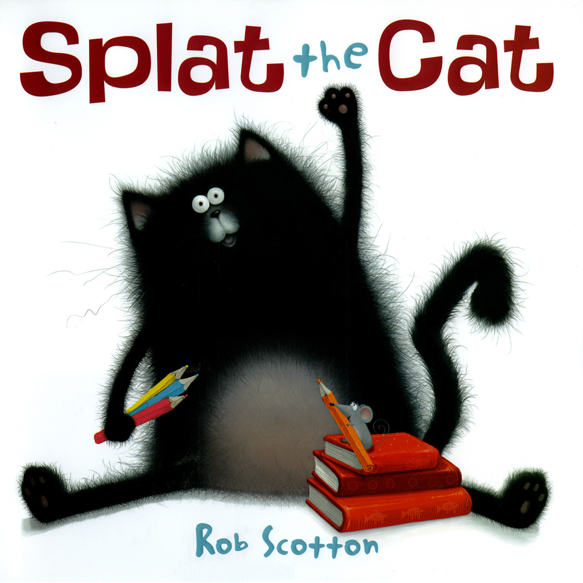 Printable Splat the Cat Audiobook Cover Art