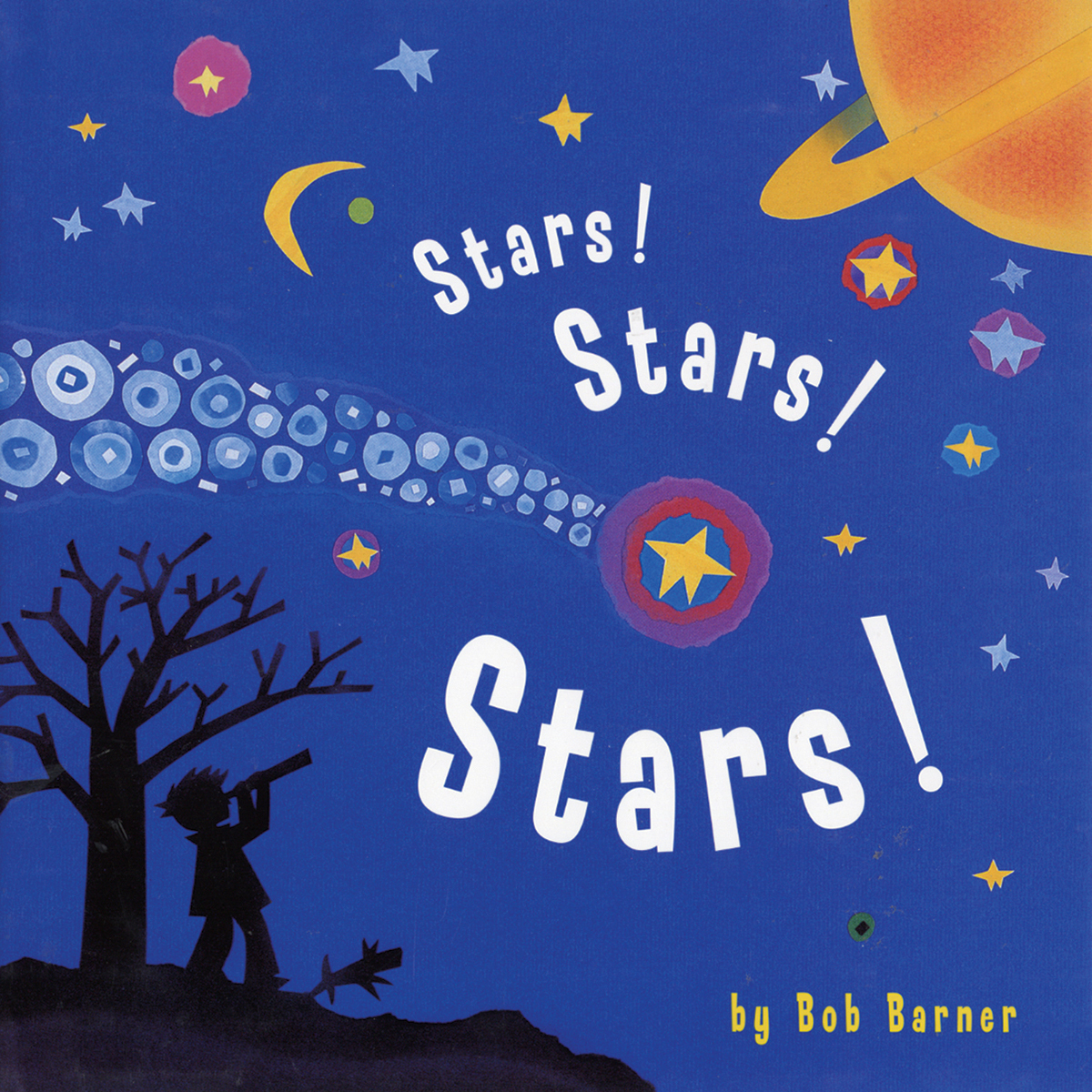 Printable Stars! Stars! Stars! Audiobook Cover Art