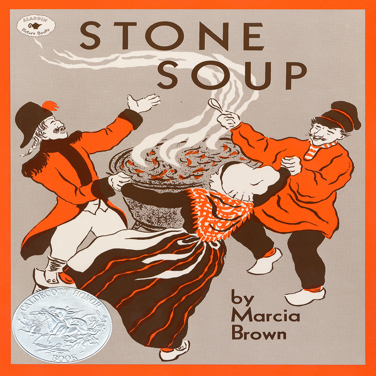 Printable Stone Soup Audiobook Cover Art