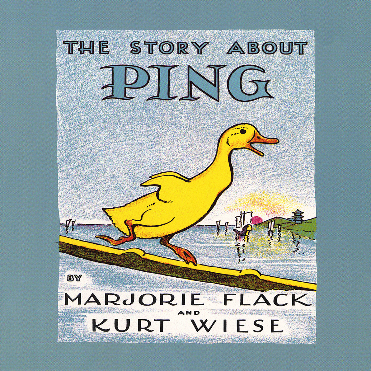 Printable The Story about Ping Audiobook Cover Art