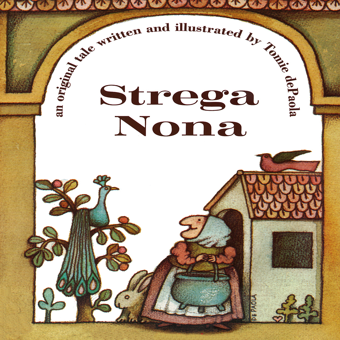 Printable Strega Nona Audiobook Cover Art