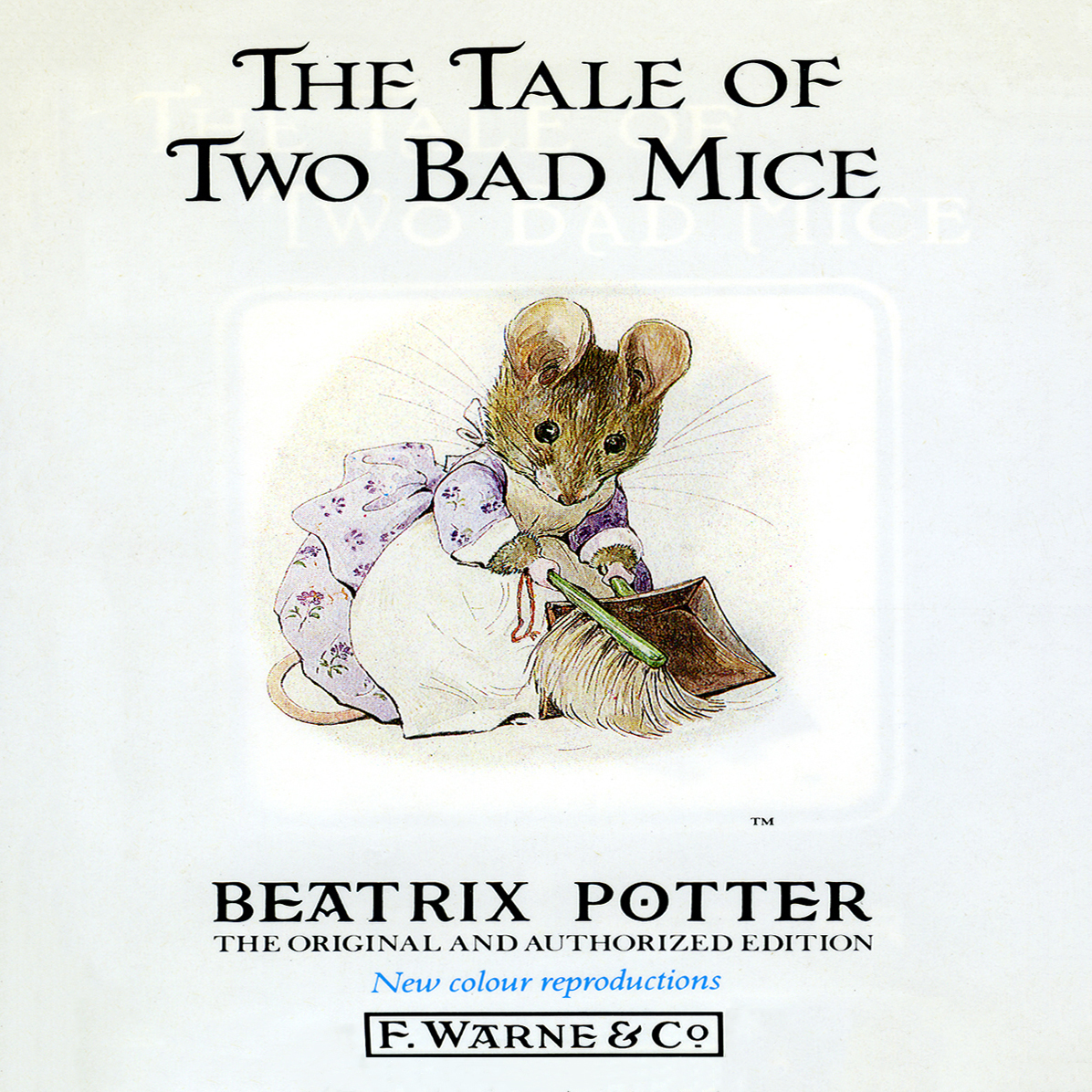 Printable The Tale of Two Bad Mice Audiobook Cover Art