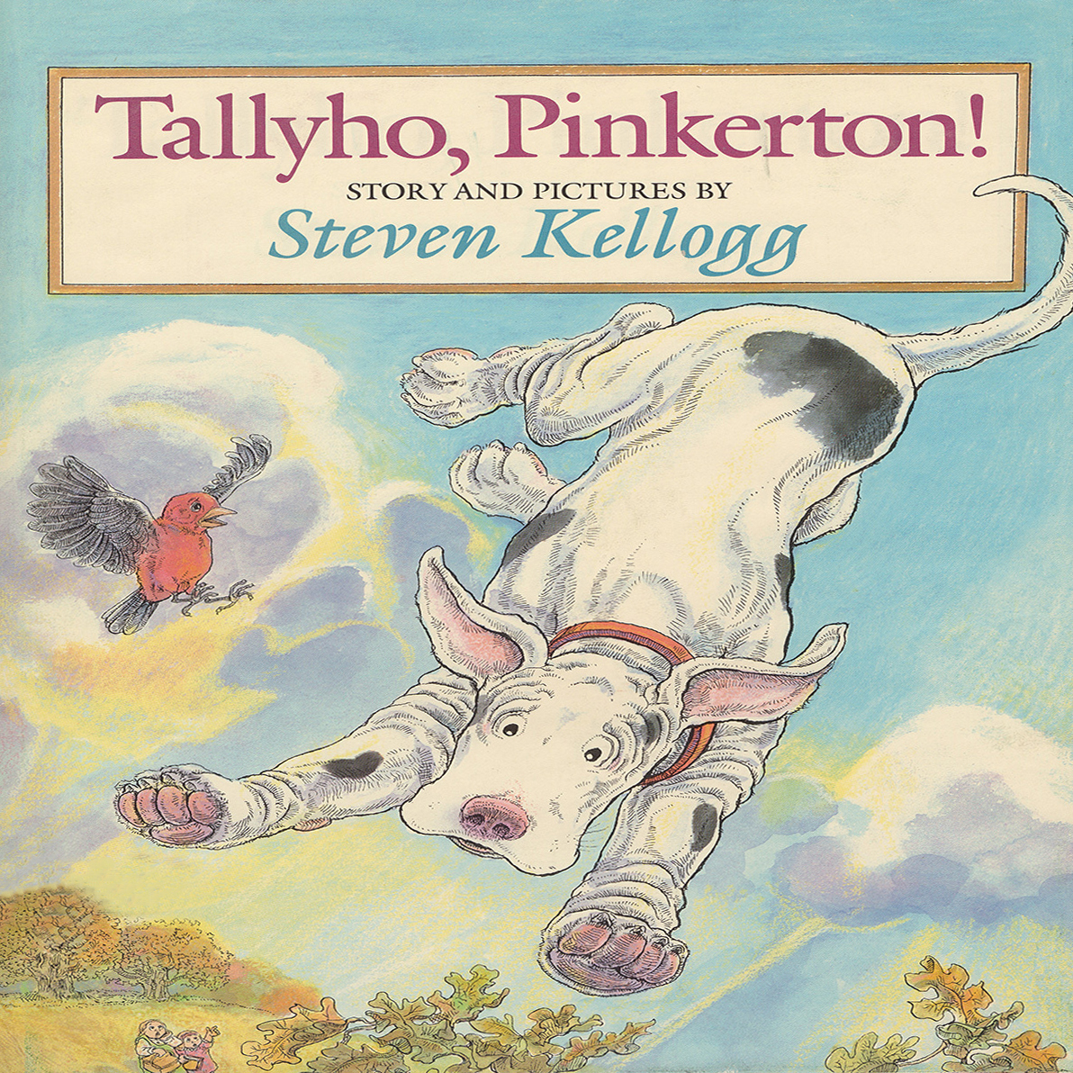 Printable Tallyho, Pinkerton Audiobook Cover Art