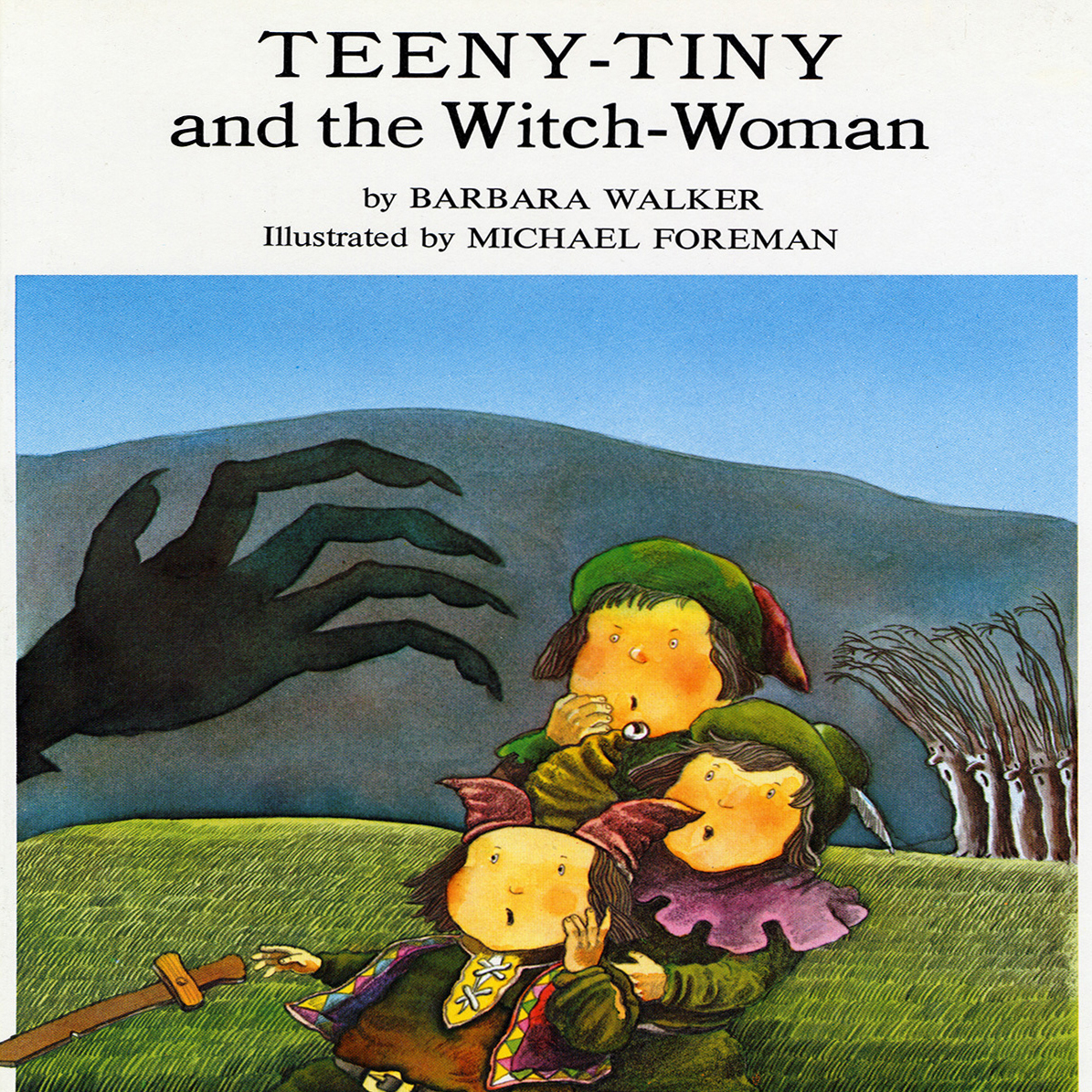 Printable Teeny-Tiny and the Witch Woman Audiobook Cover Art