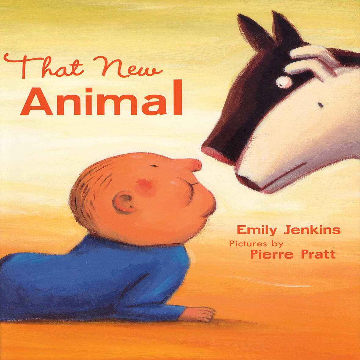 Printable That New Animal Audiobook Cover Art