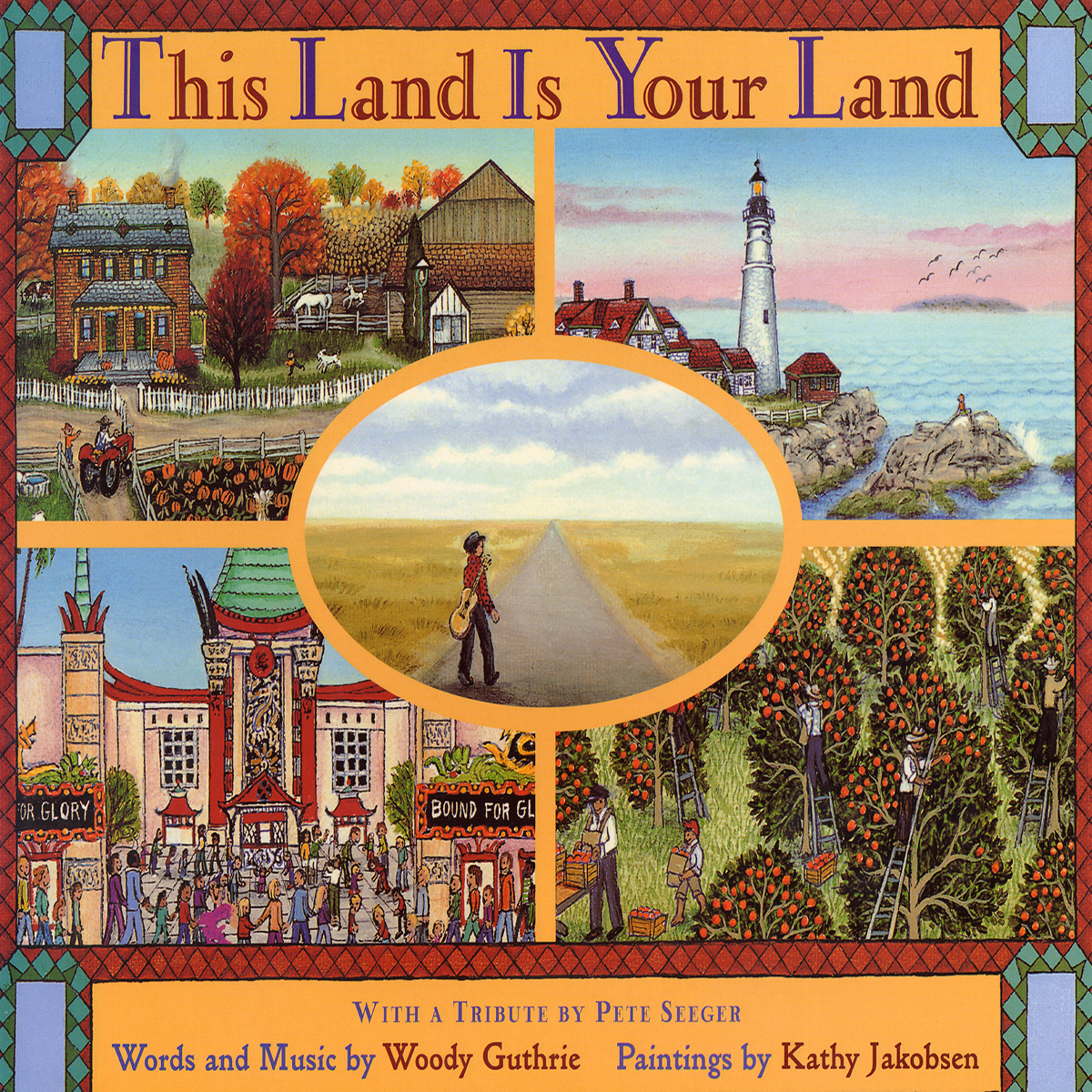 Printable This Land Is Your Land Audiobook Cover Art