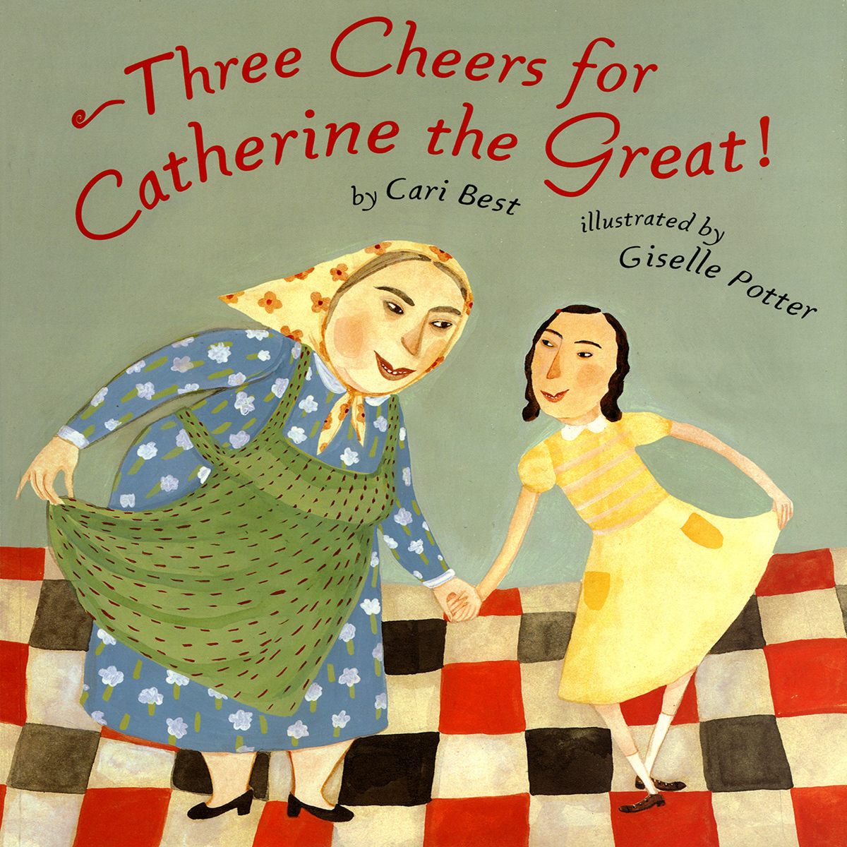 Printable Three Cheers for Catherine the Great! Audiobook Cover Art