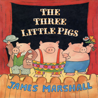 The Three Little Pigs  Audiobook, by James Edward Marshall