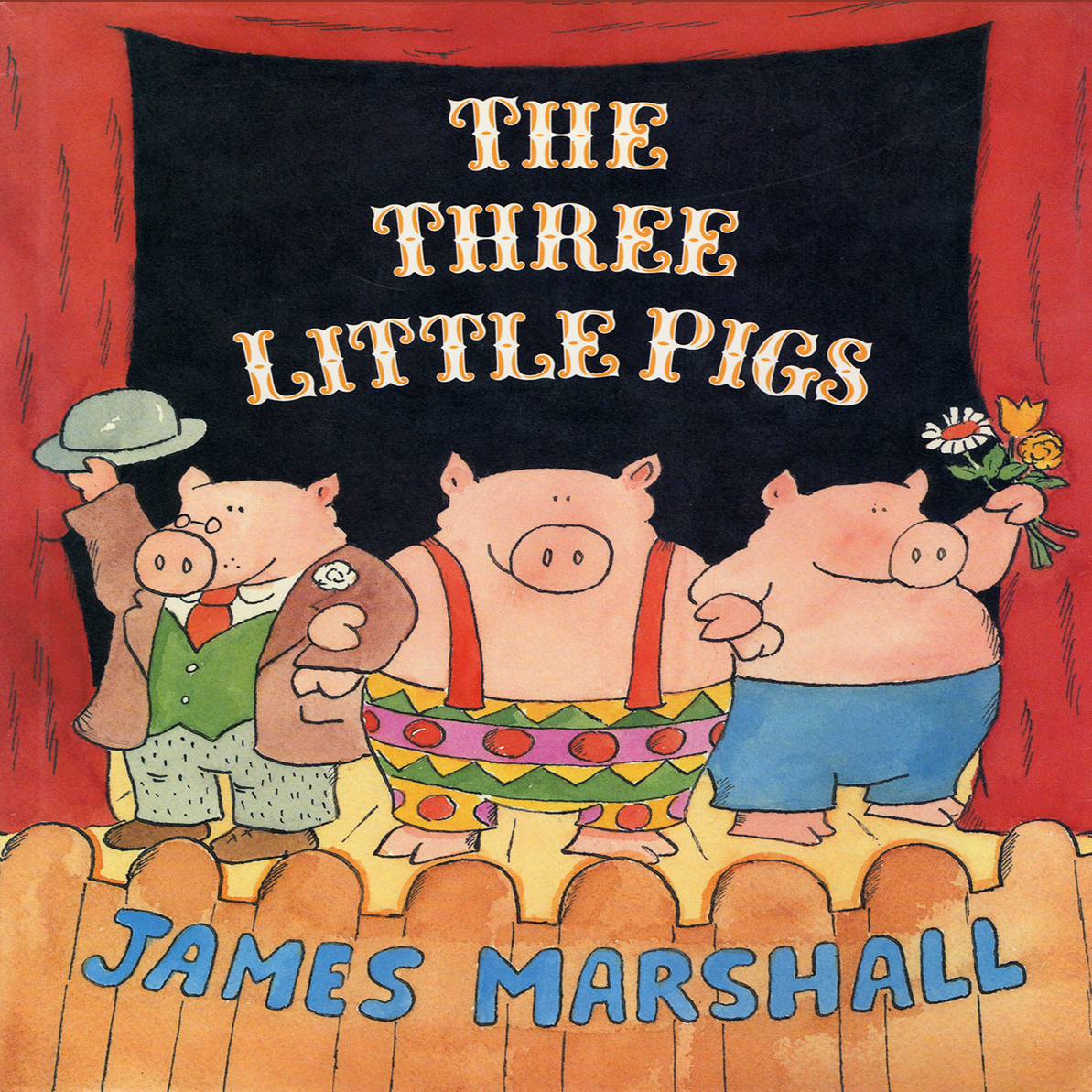 Printable The Three Little Pigs  Audiobook Cover Art