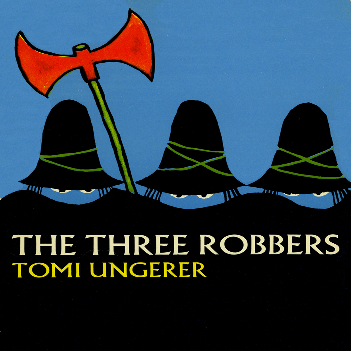 Printable Three Robbers Audiobook Cover Art