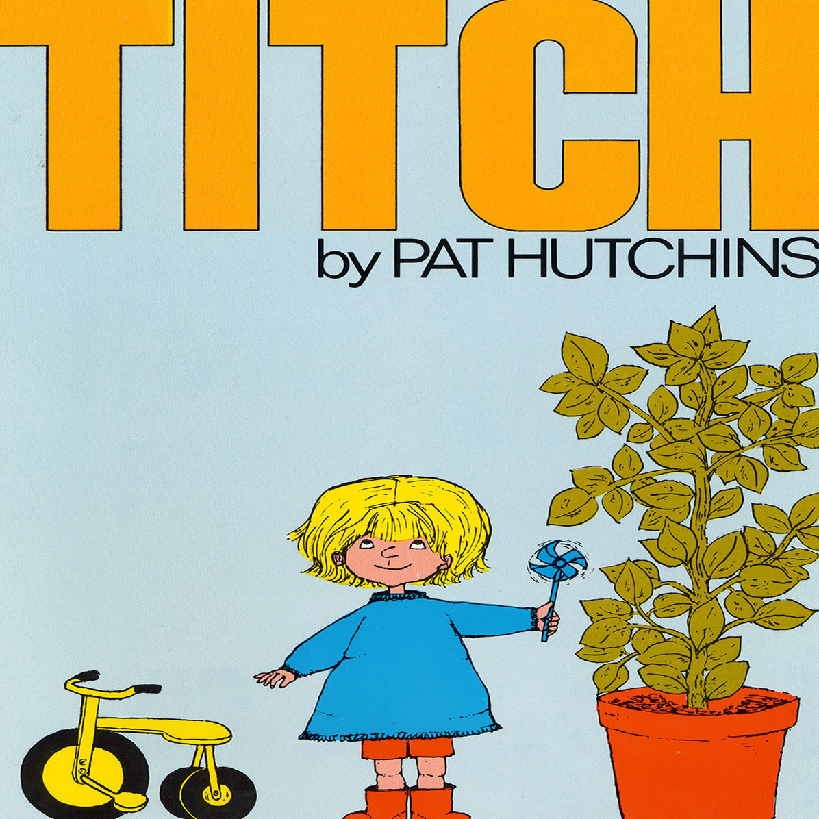 Printable Titch Audiobook Cover Art