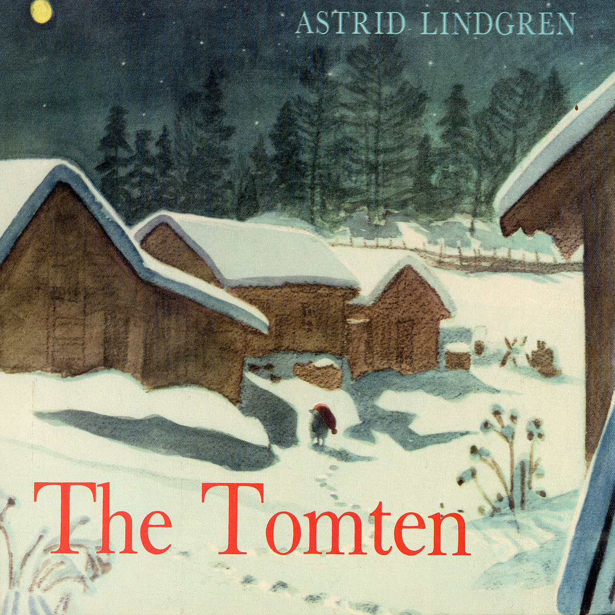 Printable The Tomten and the Fox Audiobook Cover Art