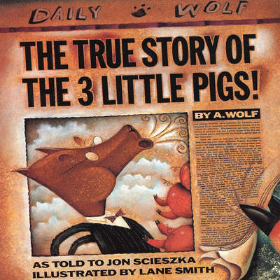 The True Story of the Three Little Pigs Audiobook, by