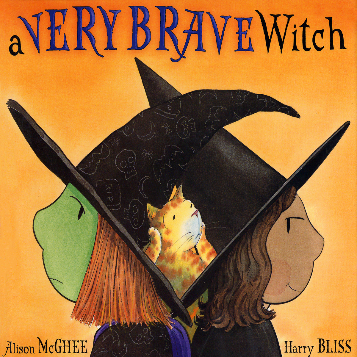 Printable A Very Brave Witch Audiobook Cover Art