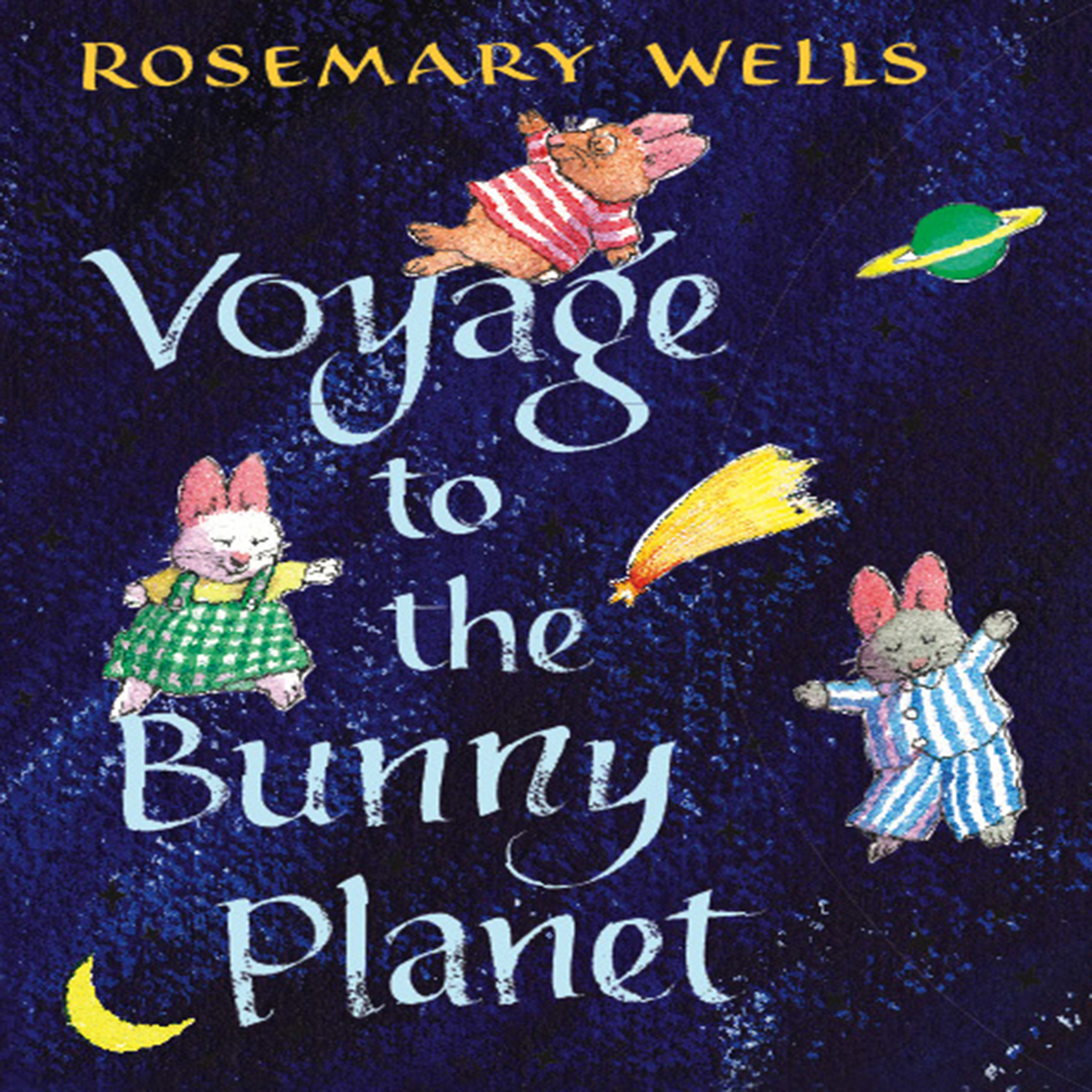 Printable Voyage to the Bunny Planet Audiobook Cover Art