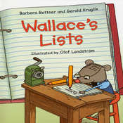 Wallace's Lists Audiobook, by Barbara Bottner, Gerald  Kruglik