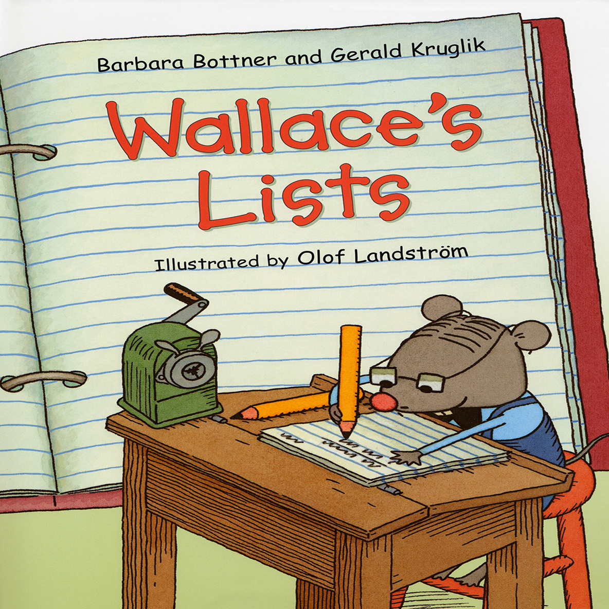 Printable Wallace's Lists Audiobook Cover Art