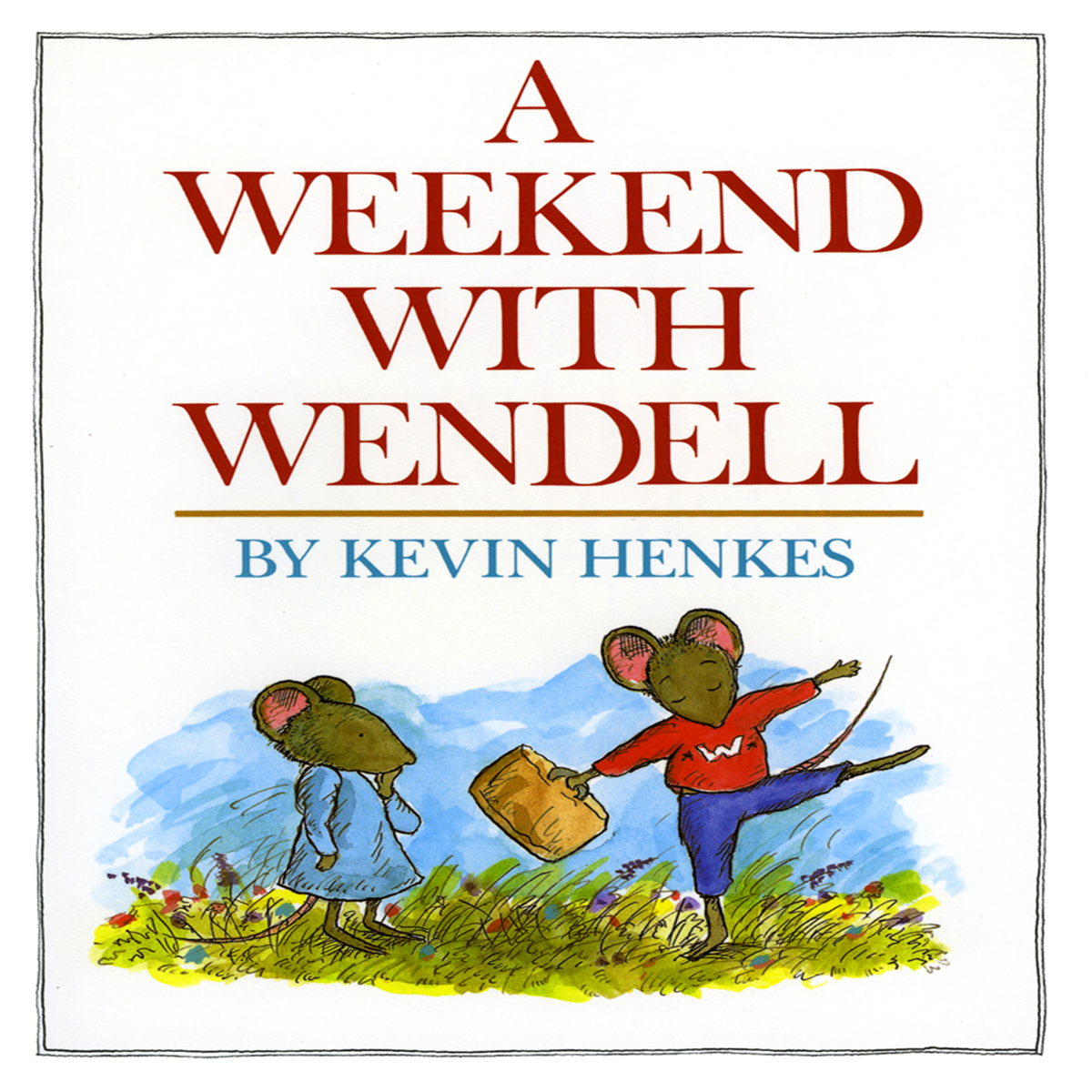 Printable A Weekend with Wendell Audiobook Cover Art