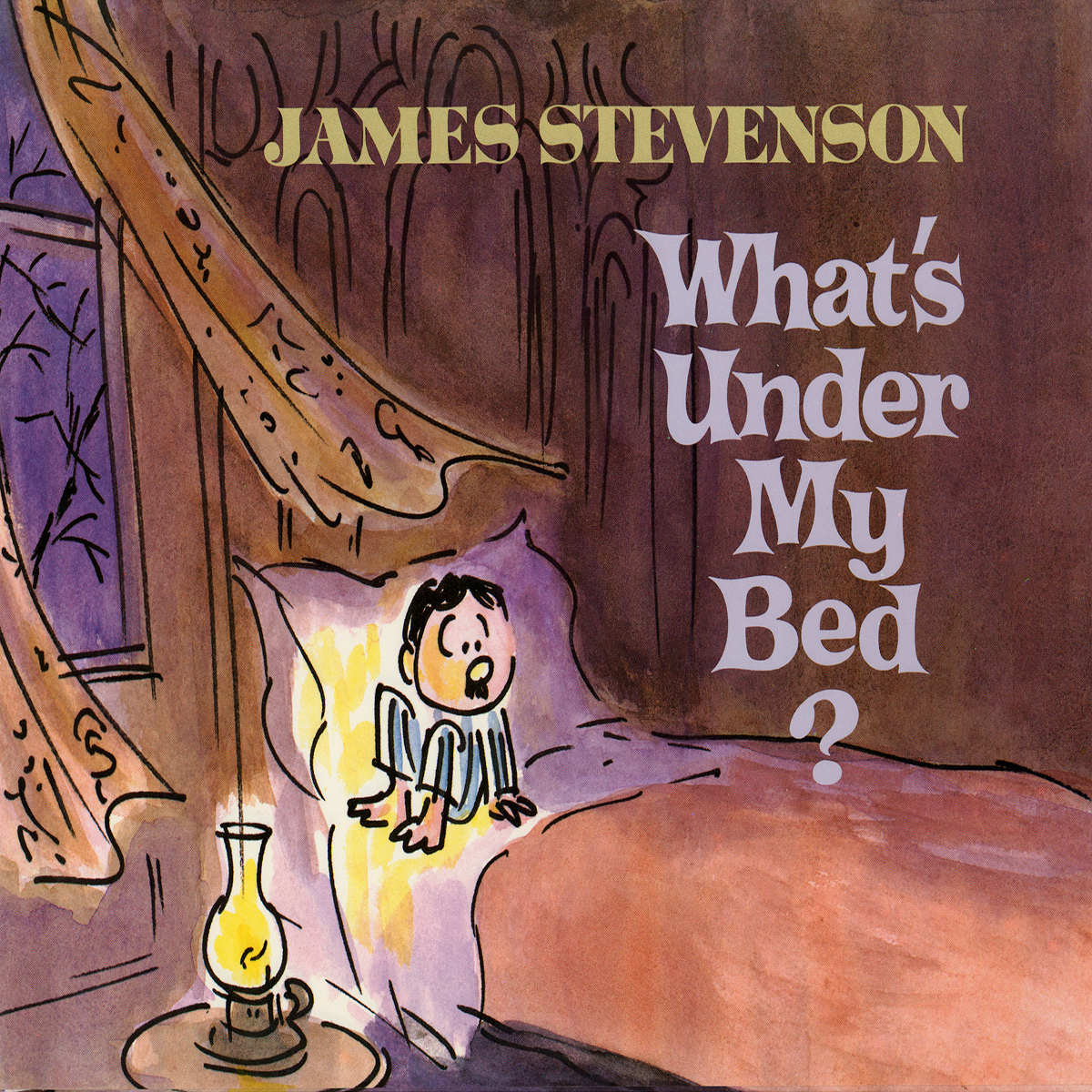 Printable What's under My Bed? Audiobook Cover Art