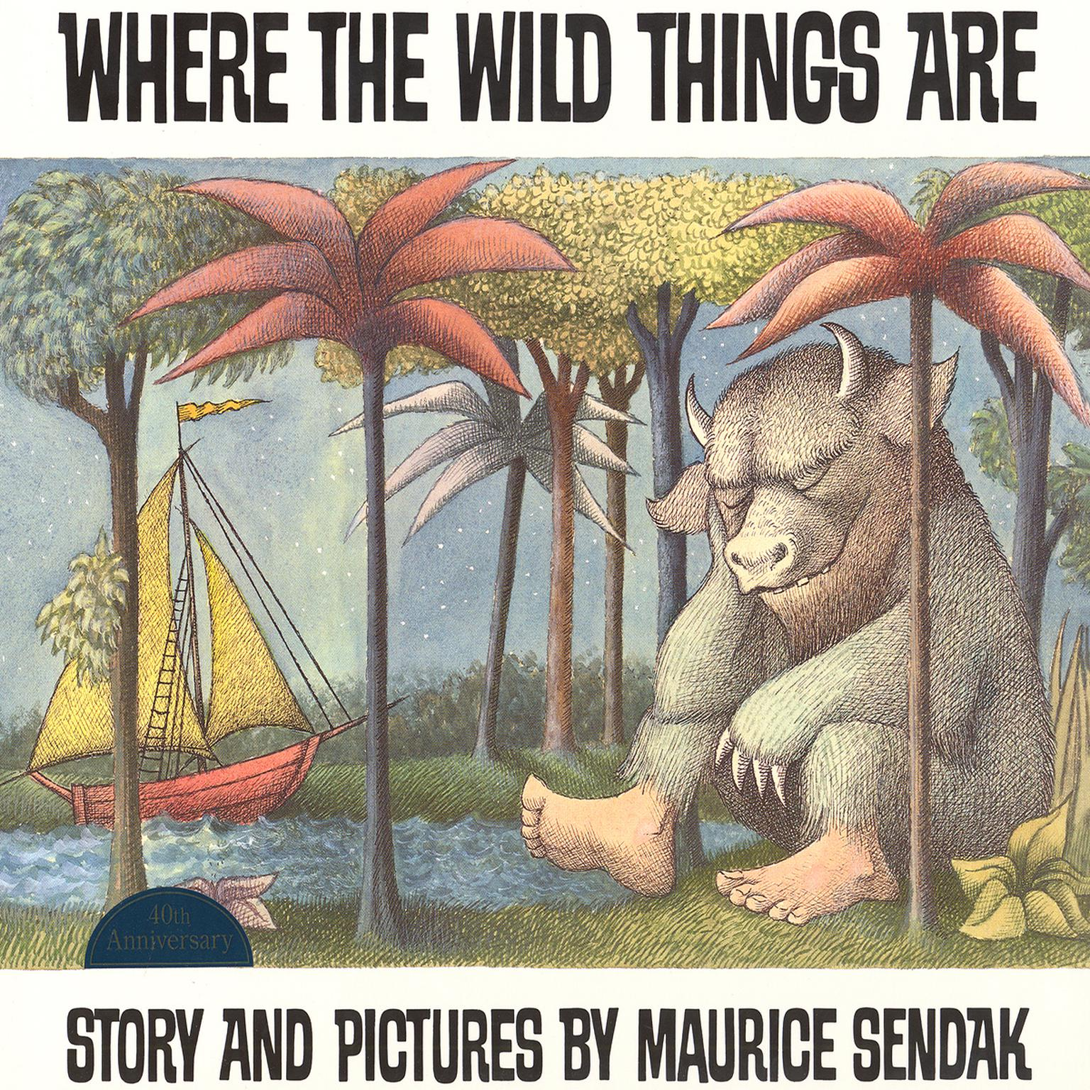 Printable Where the Wild Things Are Audiobook Cover Art