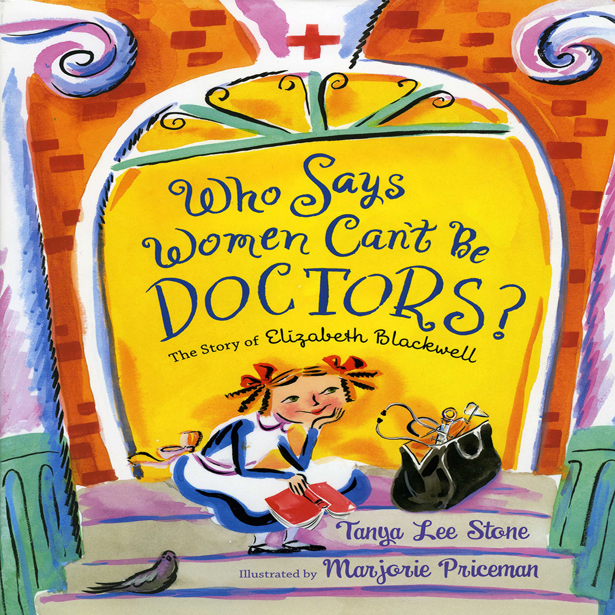 Printable Who Says Women Can't Be Doctors? Audiobook Cover Art