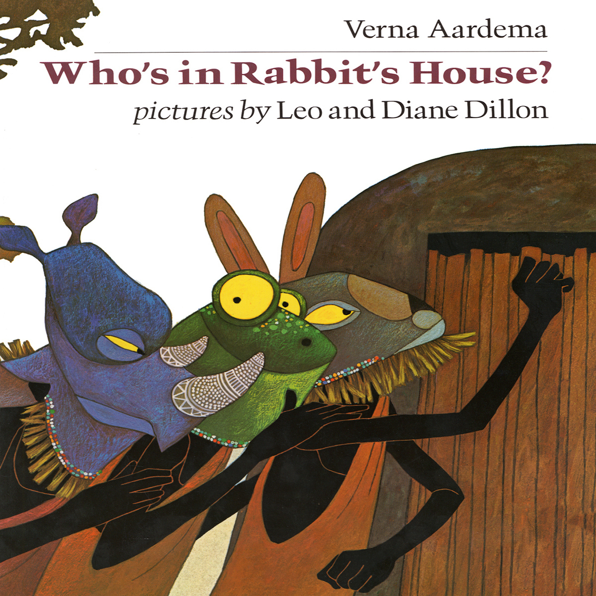 Printable Who's in Rabbit's House? Audiobook Cover Art
