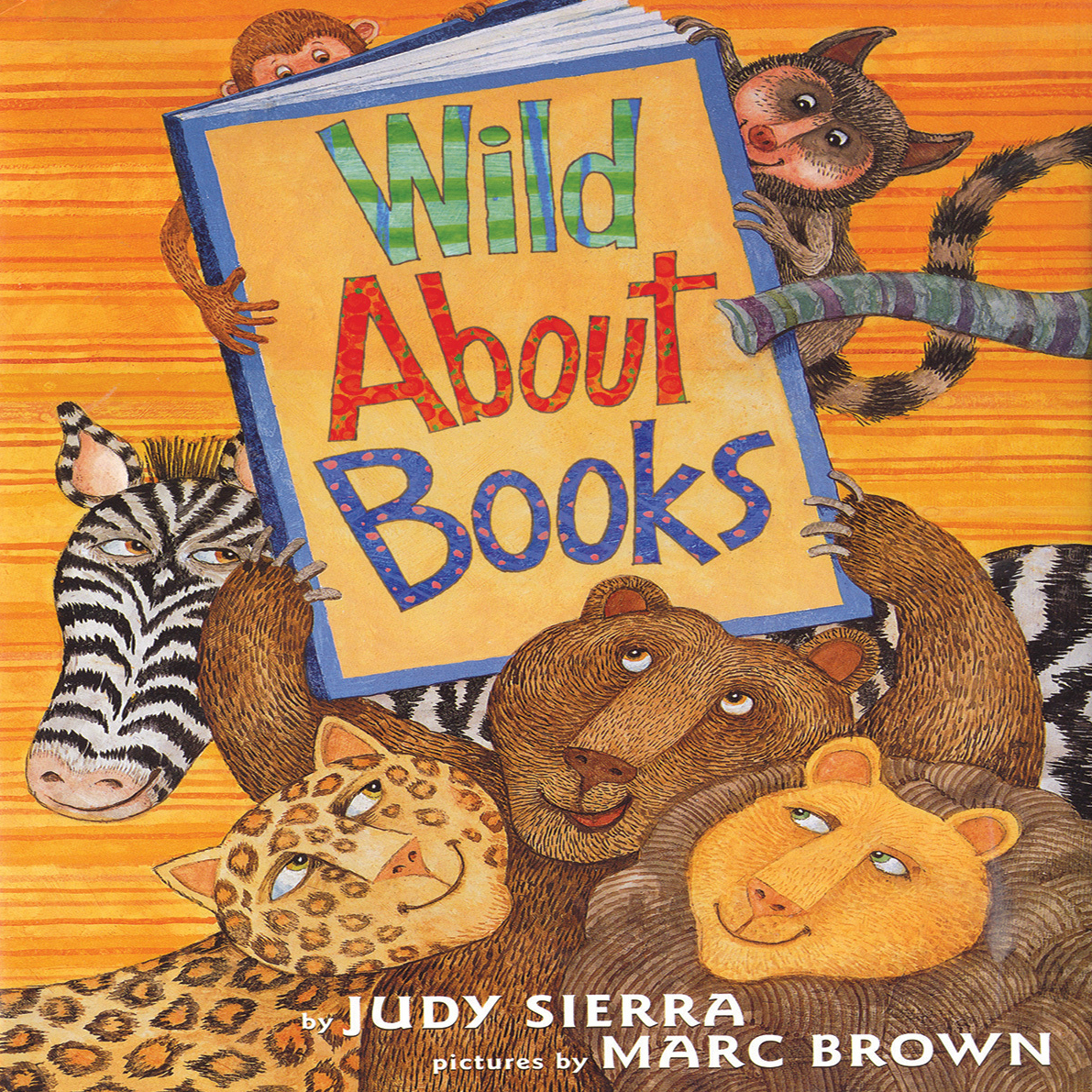 Printable Wild about Books Audiobook Cover Art