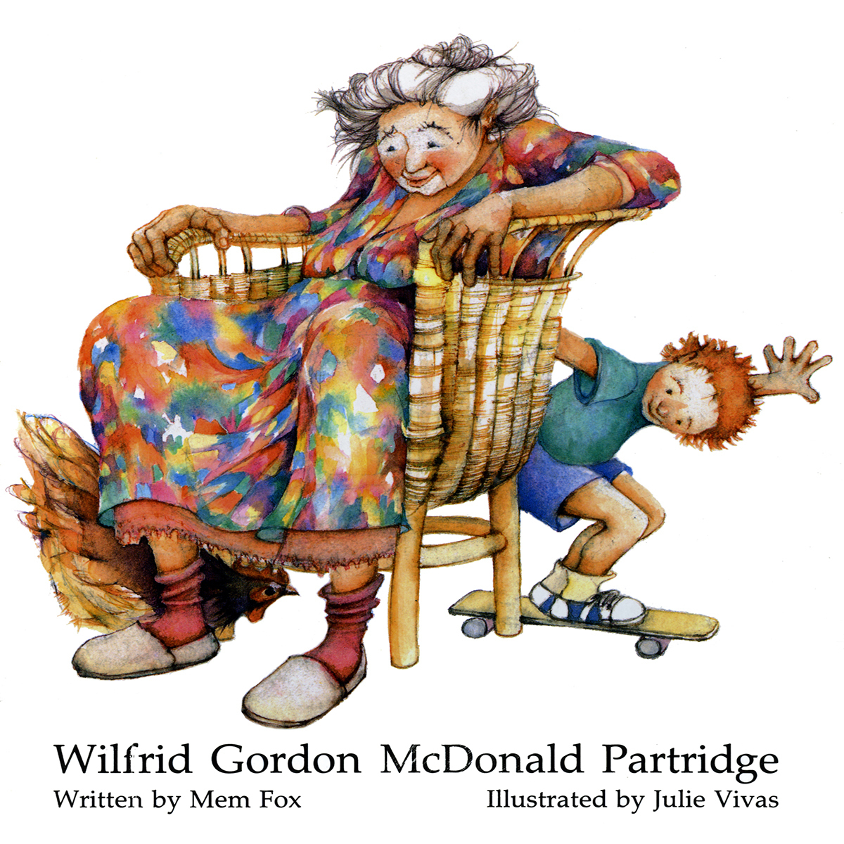 Printable Wilfrid Gordon McDonald Partridge Audiobook Cover Art