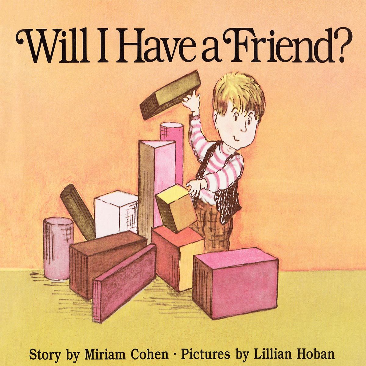 Printable Will I Have a Friend? Audiobook Cover Art