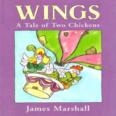 Wings: A Tale of Two Chickens Audiobook, by James Edward Marshall